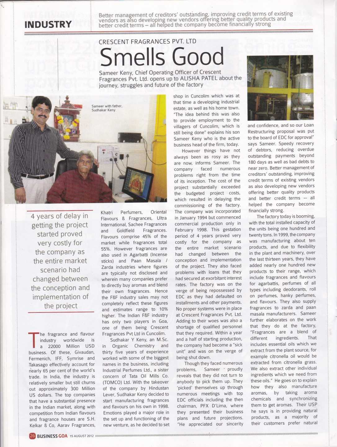 Business Goa Page 1