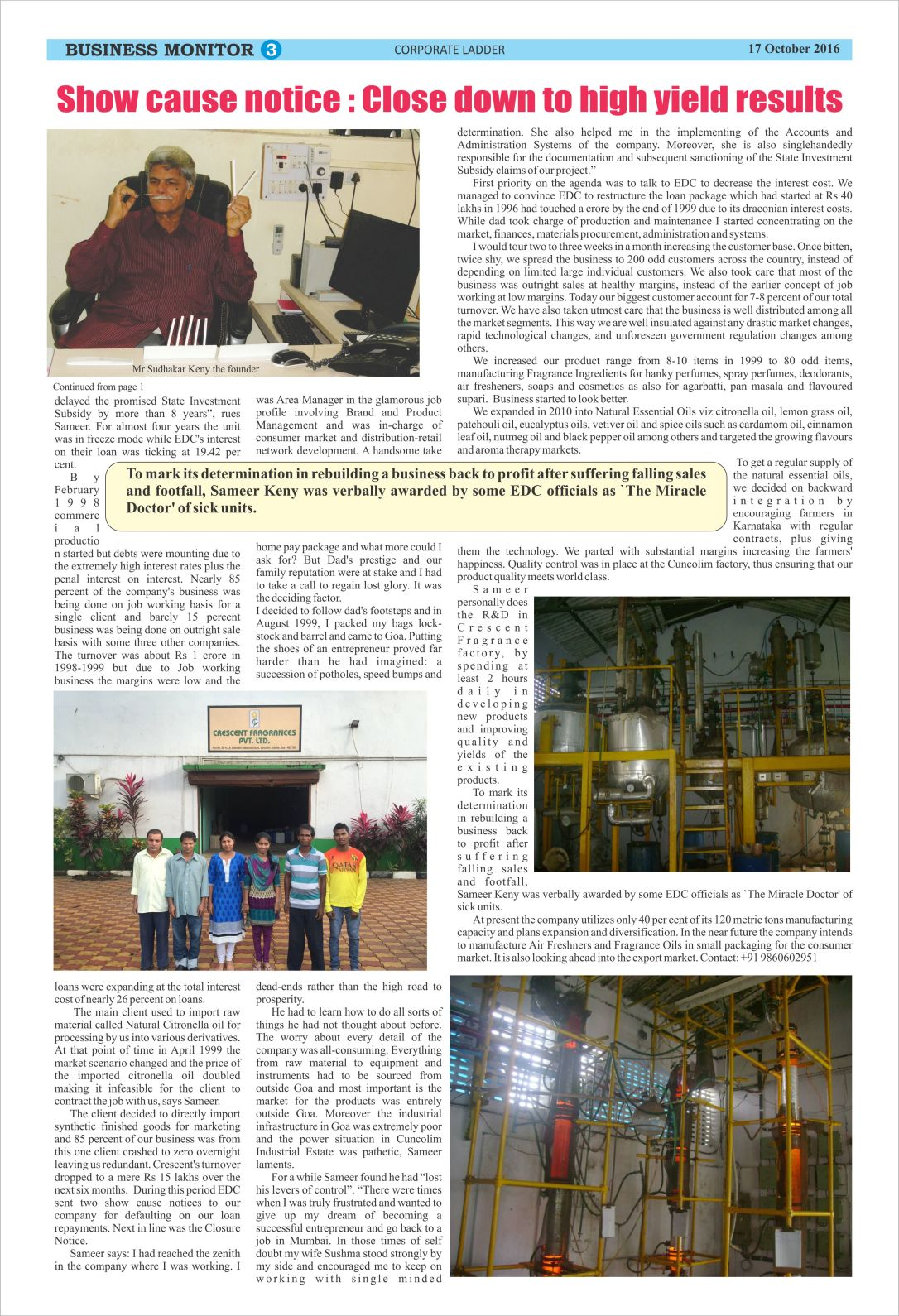 Business Monitor Cover story Page 2