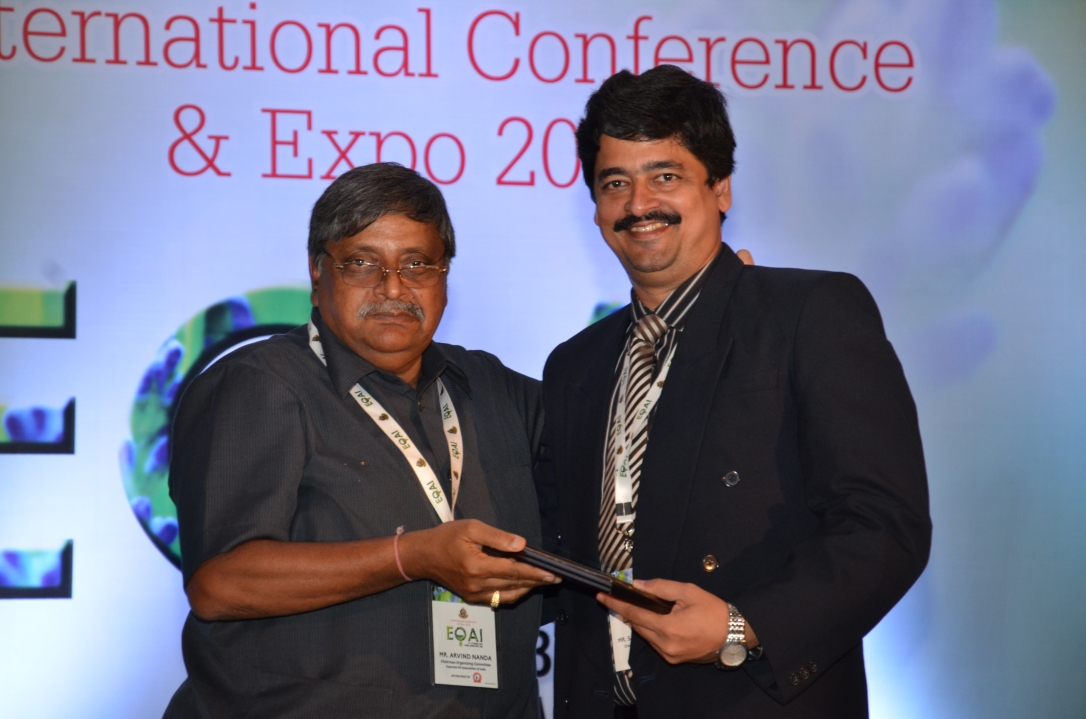 Sameer Keny felicitated by EOAI